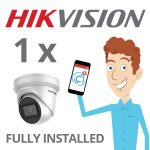 1 x Hikvision Camera with Darkfighter Installed