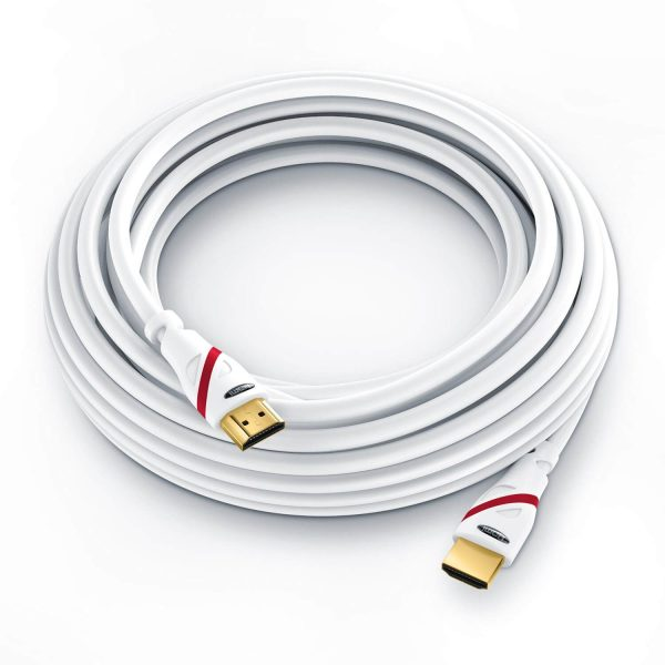 10m HDMI Cable – White