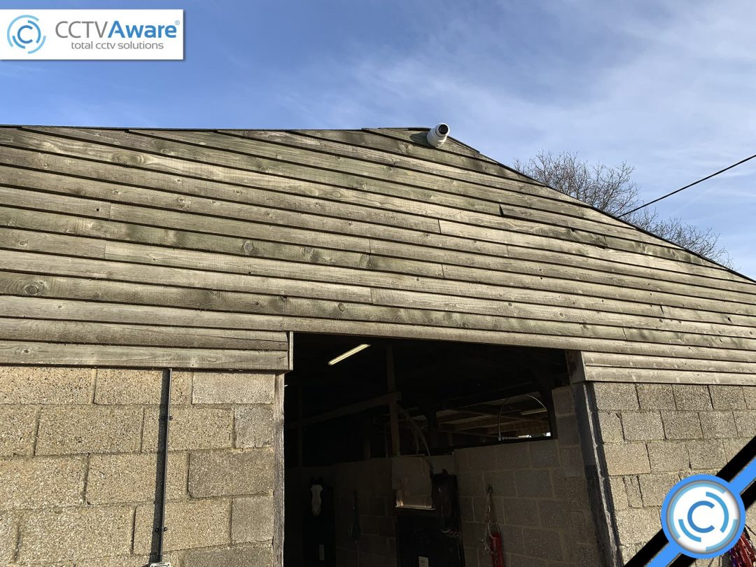 CCTV Installation for Rayne Riding Centre in Braintree