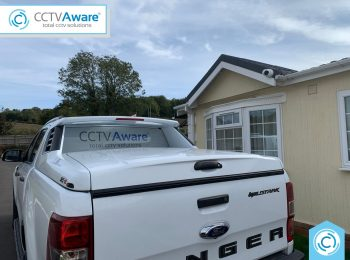 CCTV Installation for a Park Home in Kent
