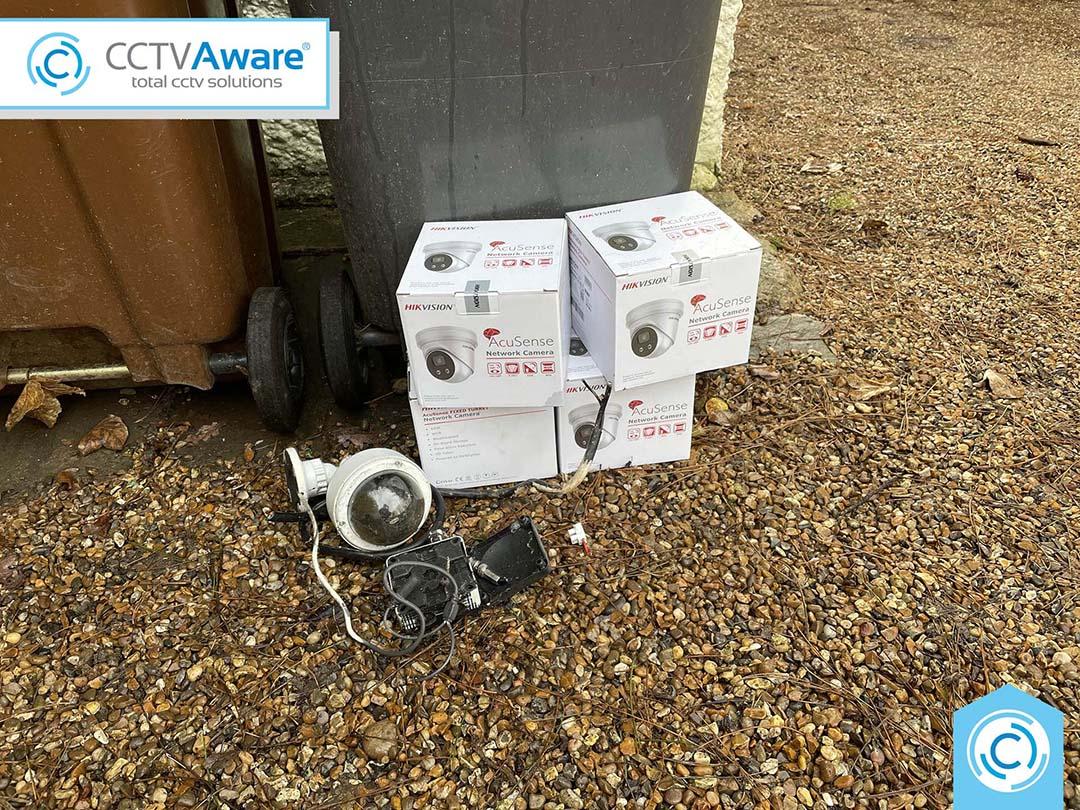 4K AcuSense CCTV Installation in Danbury