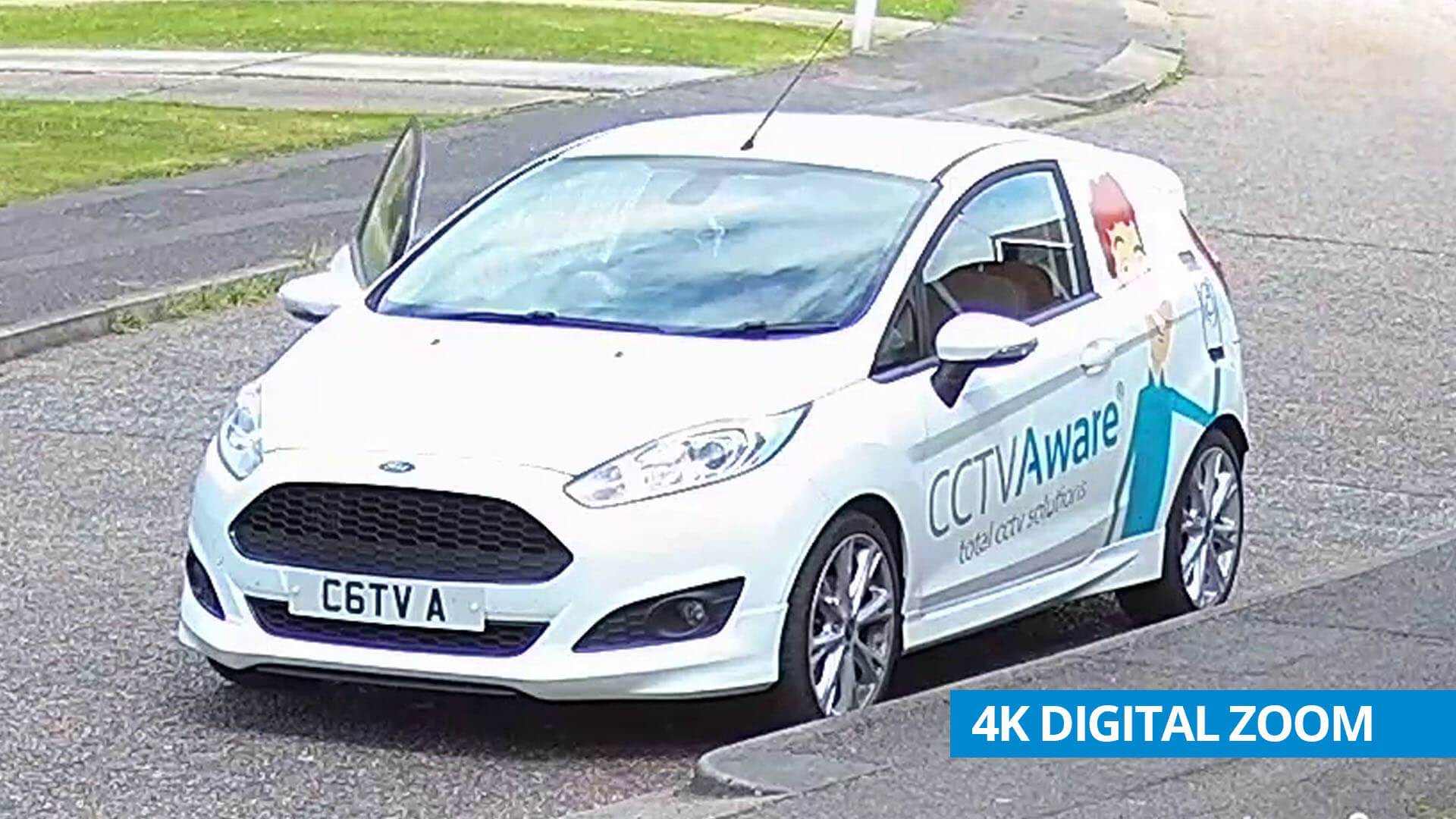 4K CAR REG EXAMPLE (OVERLAY)