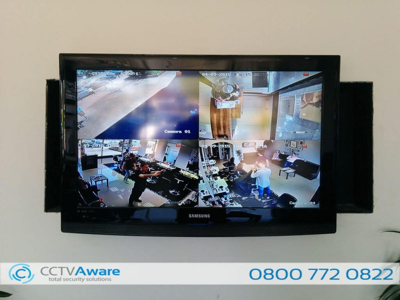 CCTV Installation in Sidcup (Cut & Co)