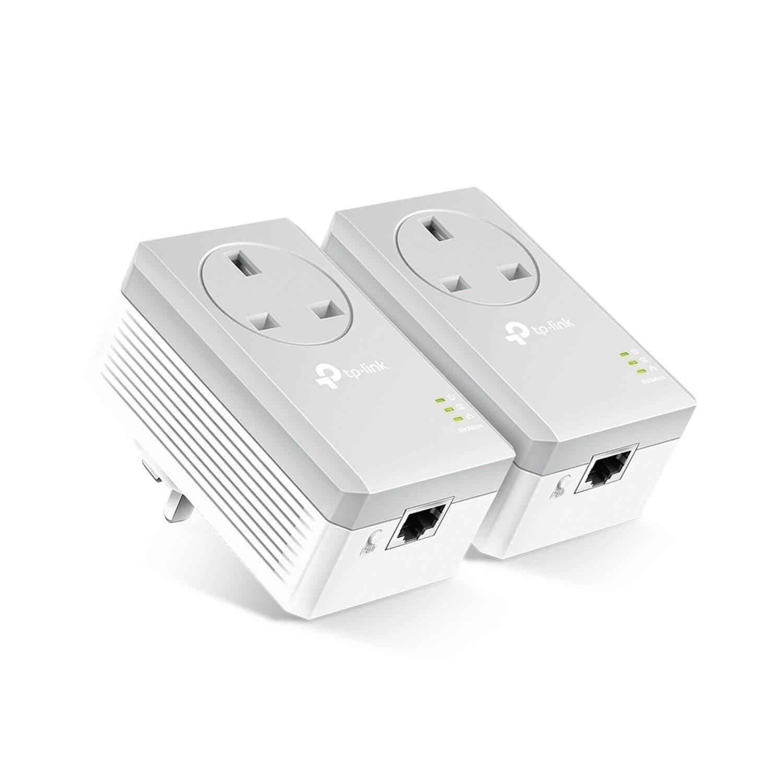 TP Link Powerline Network Plug (Pair