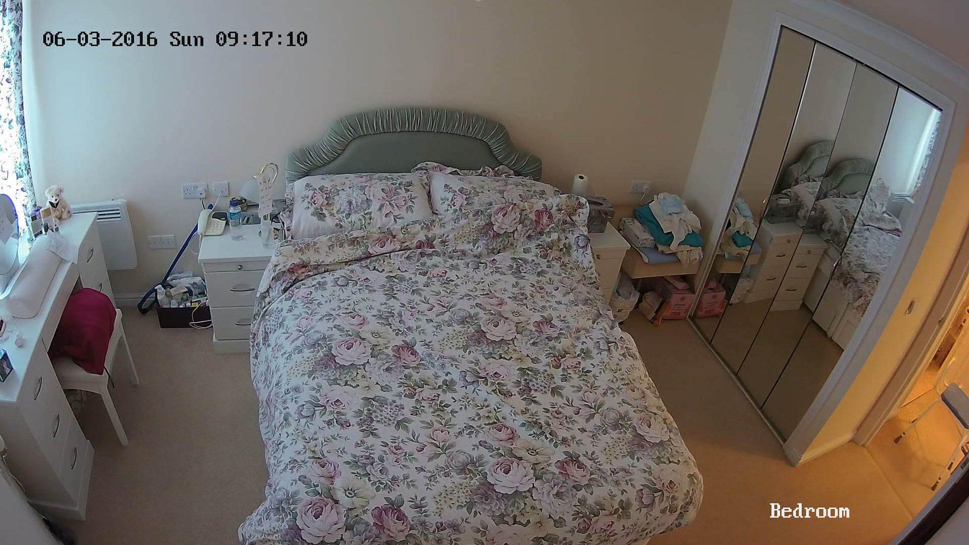 CCTV for carers or elderly (Bedroom)