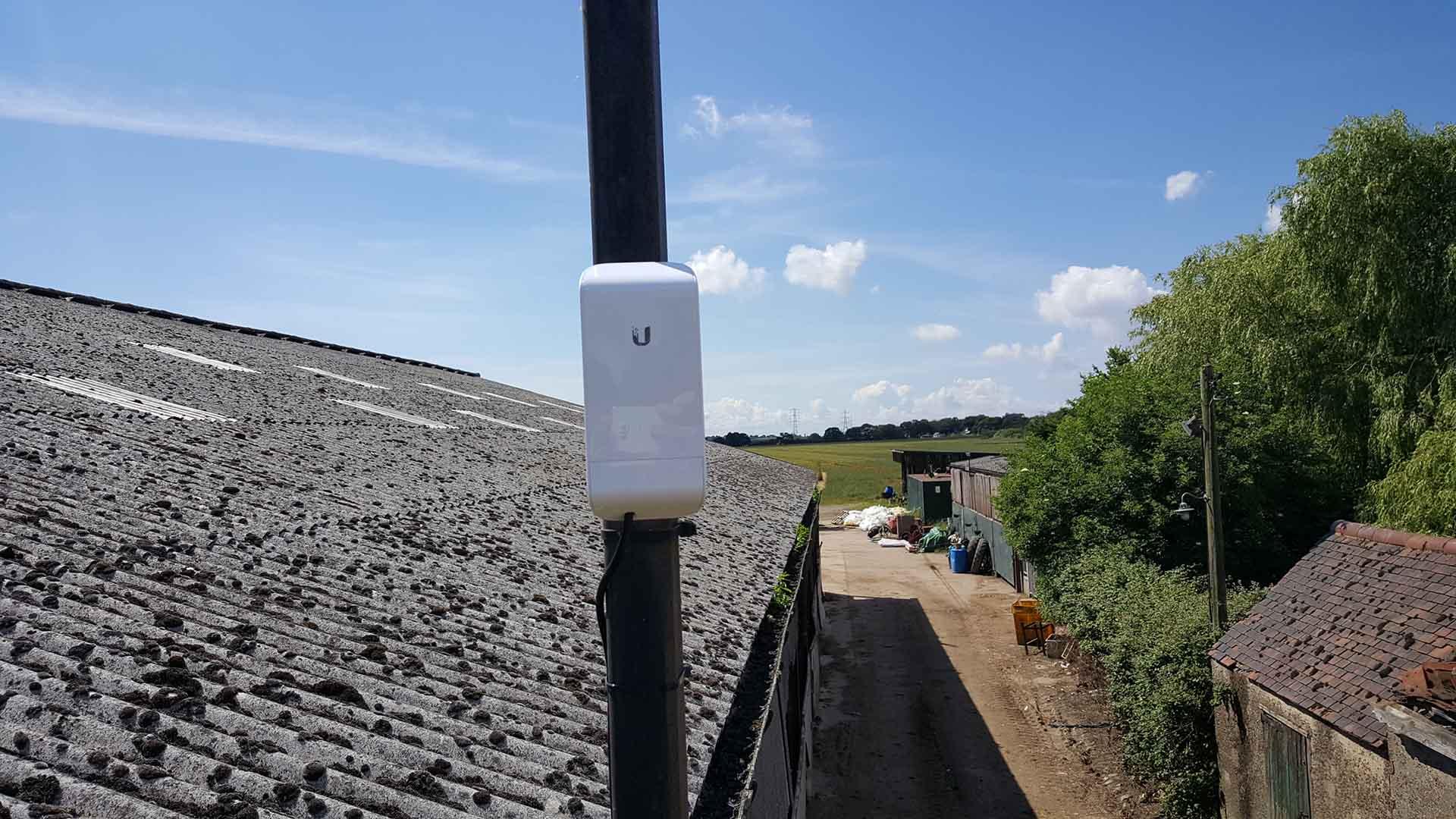 CCTV Installation in an Essex Farm