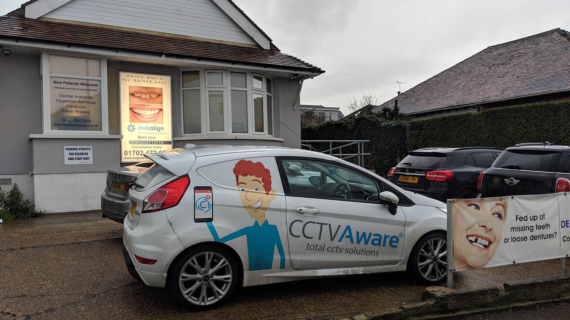 Commercial CCTV Installation in Leigh-on-Sea