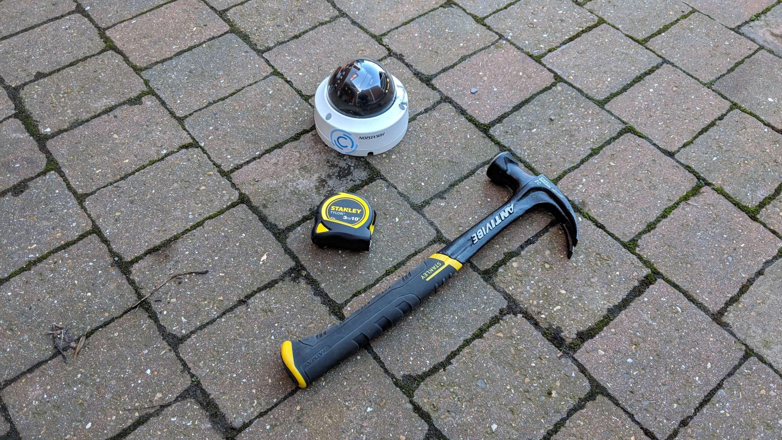 Hikvision Dome Camera Vandal Proof Test