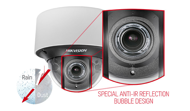 Hikvision Redesigned Dome