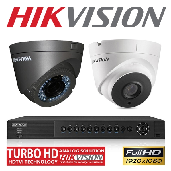 Hikvision Turbo HD CCTV System