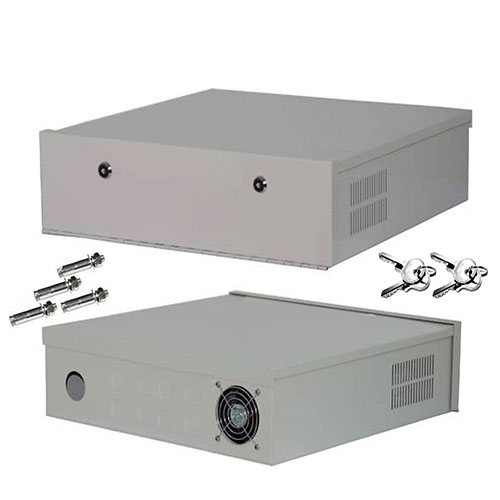 Lockable DVR / NVR Safe