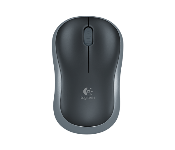 Logitech M185 Wireless Mouse – Grey